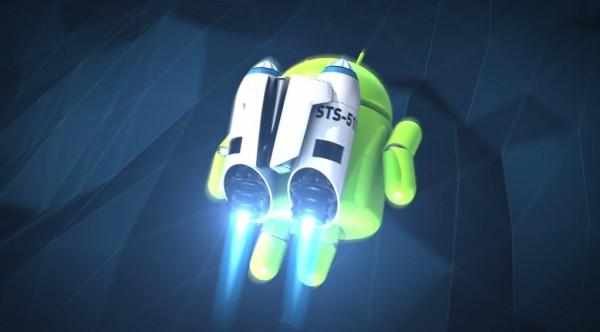 Android - rakieta