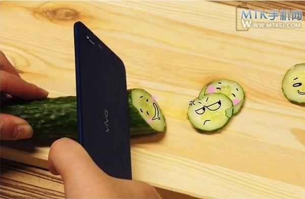 BBK Vivo X3 - krojenie warzyw 2