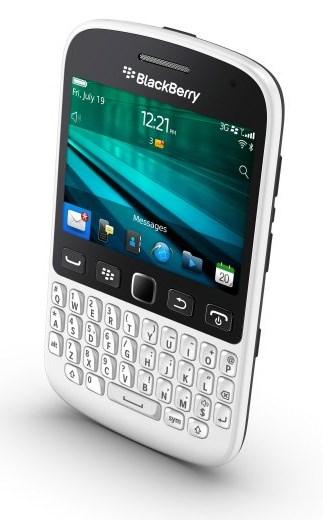 BlackBerry 9720 - biały, front