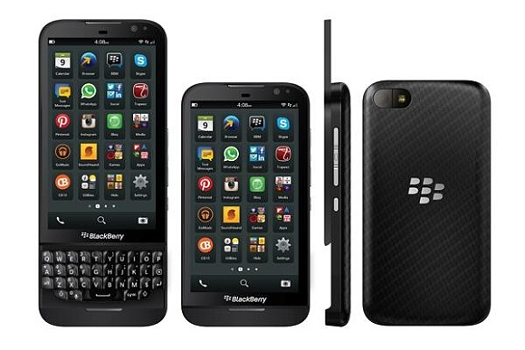 BlackBerry Z15 - widoki
