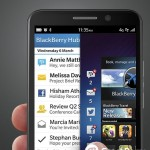 BlackBerry Z30 - BB Hub