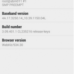 HTC One - Android 4.3 - 2