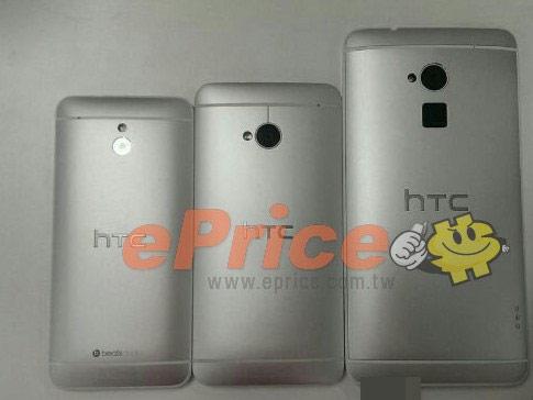 HTC One Max, One i One mini