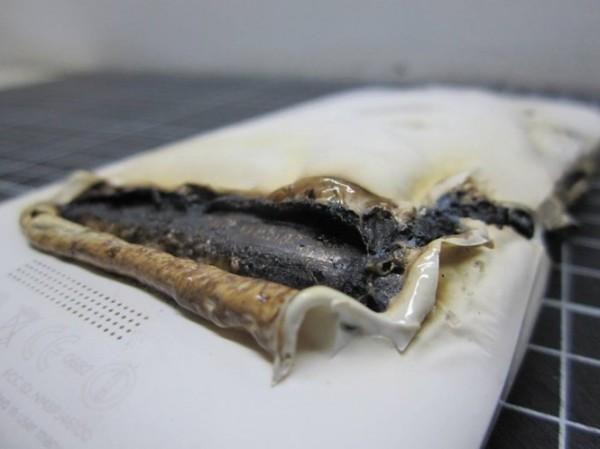 HTC One X - po eksplozji