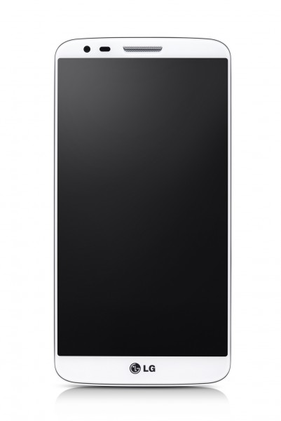 LG G2 - front, biały