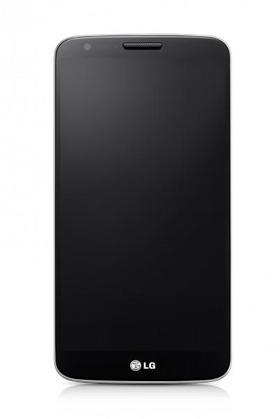 LG G2 - front, czarny