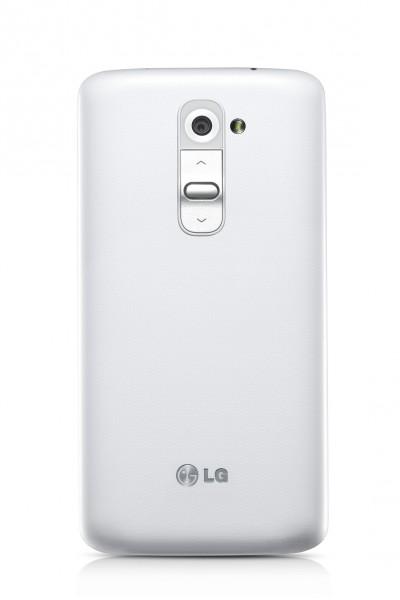 LG G2 - tył, biały