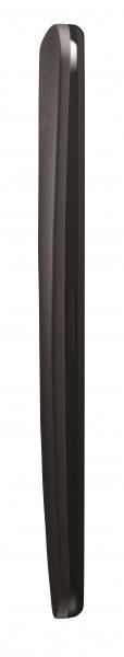 Motorola Moto X - czarna, bok