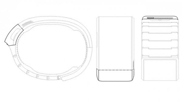 Samsung Galaxy Gear - rysunek