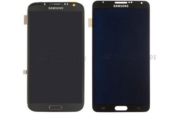 Samsung Galaxy Note II i Note III - panele