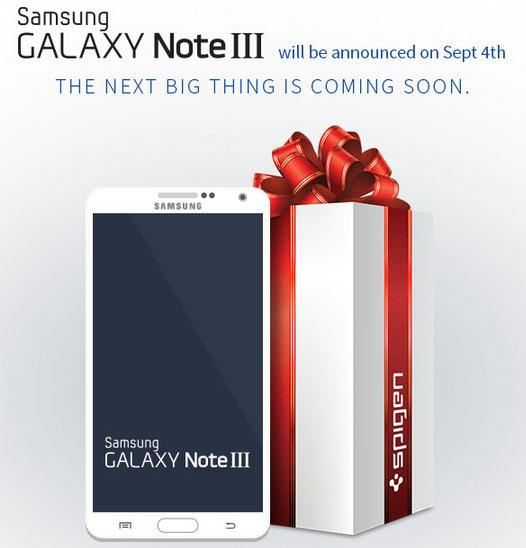 Samsung Galaxy Note III - render