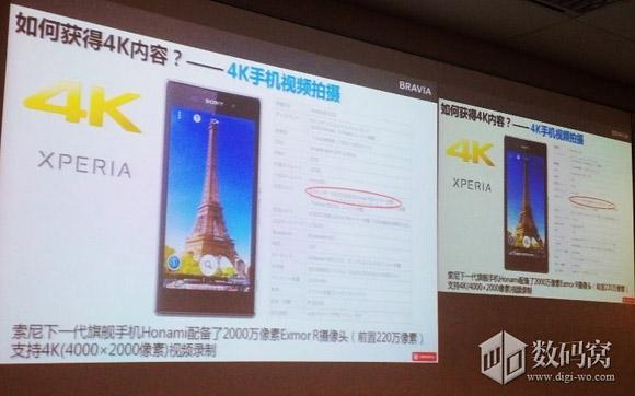 Sony Xperia Honami - slajdy