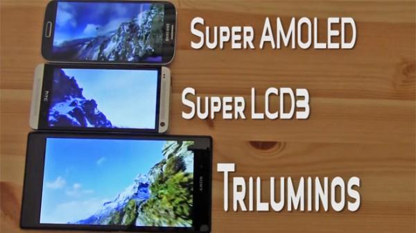 Sony Xperia Z Ultra - ekran Triluminos, porównanie