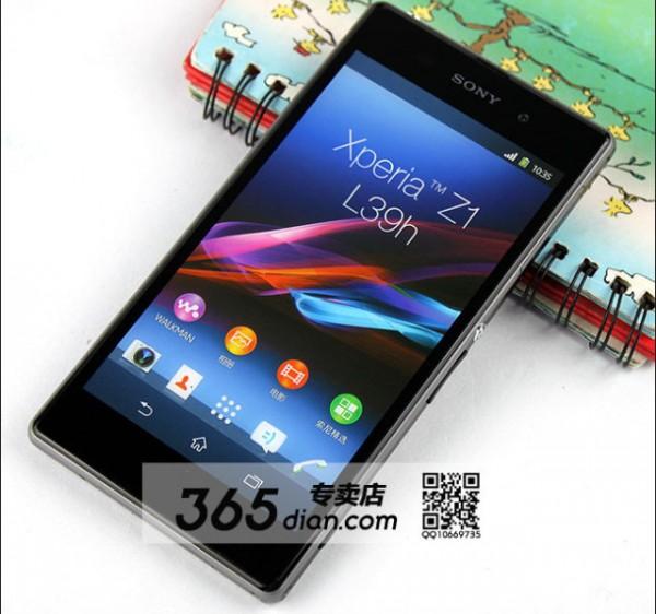 Sony Xperia Z1 - front