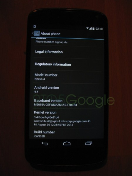 Android 4.4 KitKat - 4