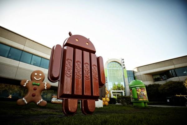 Android KitKat - statua
