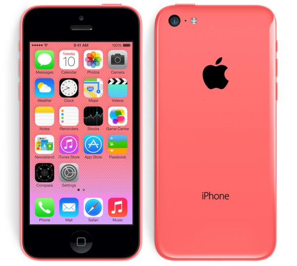 Apple iPhone 5C - rozowy