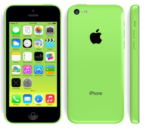 Apple iPhone 5C - zielony