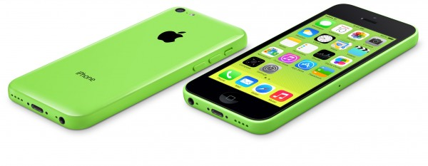 Apple iPhone 5C - zielony, duży