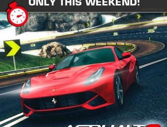 Asphalt 8: Airborne przez weekend na App Store za darmo!
