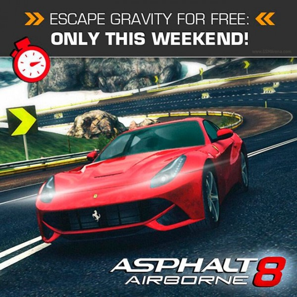 Asphalt 8 Airborne - weekendowa promocja