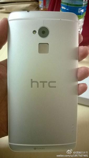 HTC One Max - tyl i czytnik linii papilarnych