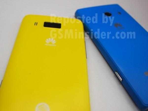 Huawei Ascend W3 - tyl