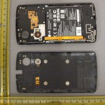 LG Nexus 5 - FCC, klapka otworzona