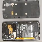 LG Nexus 5 - FCC, obudowa i wnetrze z bateria