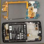 LG Nexus 5 - FCC, obudowa, wnetrze z bateria i antenami 2
