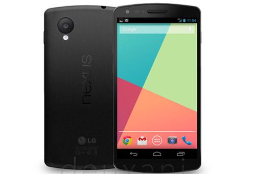 LG Nexus 5 - render