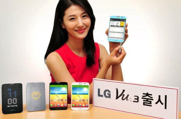 LG Vu 3 - kobieta
