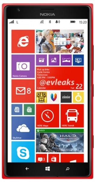 Nokia Lumia 1520 - czerwona