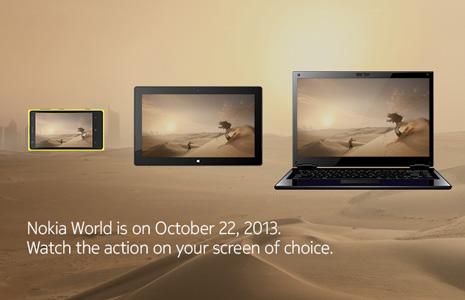 Nokia - phablet, tablet i laptop, zaproszenie na 22 pazdziernika