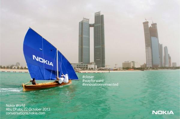 Nokia - zaproszenie na 22 października 2013