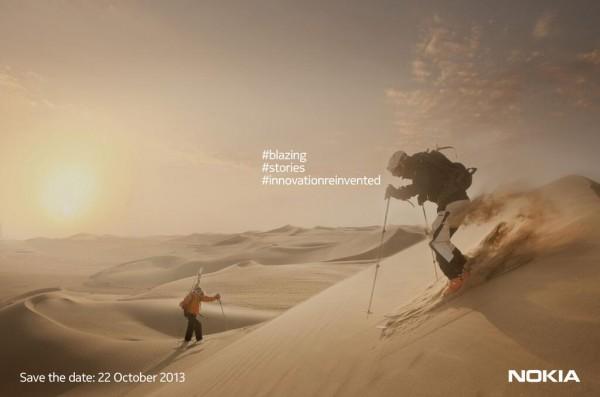 Nokia - zaproszenie na 22 pazdziernika