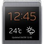 Samsung Galaxy Gear - dziki pomarancz