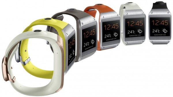 Samsung Galaxy Gear - kolory