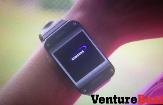 Samsung Galaxy Gear - na ręku