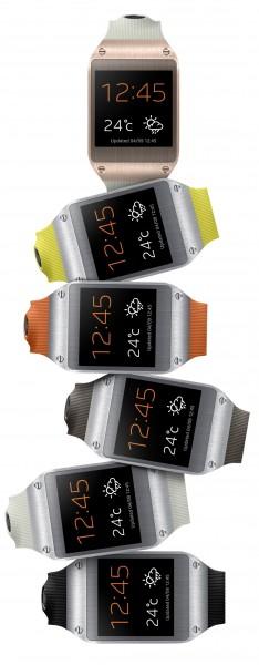 Samsung Galaxy Gear - zestaw, kolory
