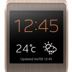 Samsung Galaxy Gear - zloty