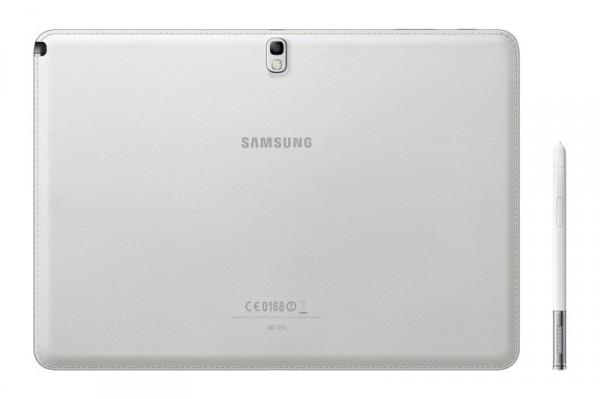 Samsung Galaxy Note 10.1 - biały z rysikiem, tył