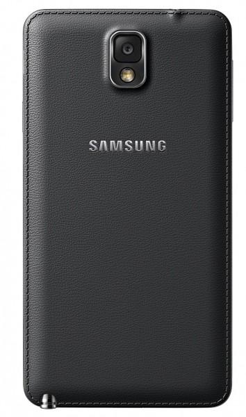Samsung Galaxy Note 3 - czarny, tył