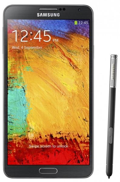 Samsung Galaxy Note 3 - czarny z rysikiem