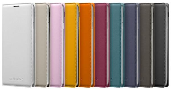 Samsung Galaxy Note 3 - kolorowe nakladki