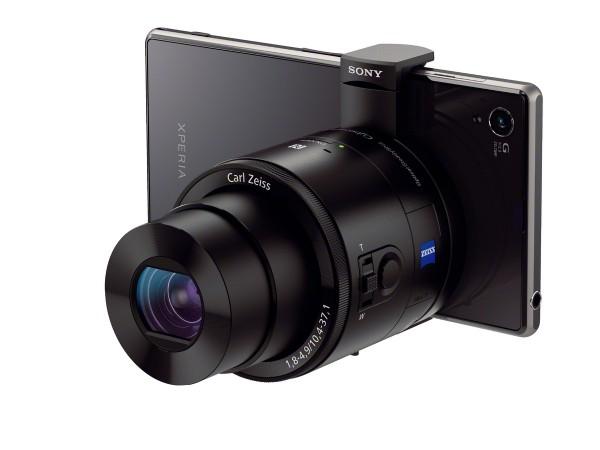 Sony Cyber shot QX100 na Xperii Z1