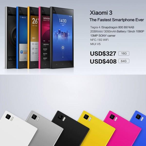 Xiaomi Mi3 - broszura
