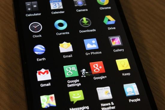 Android 4.4 KitKat - ikony