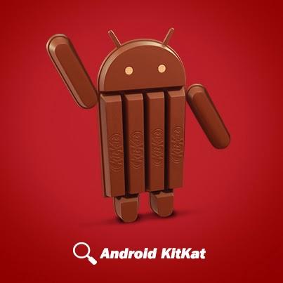 Android KitKat - czekoladowy