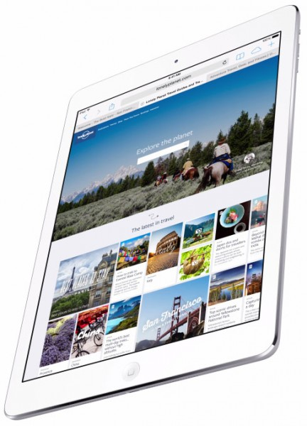 Apple iPad Air - rzut